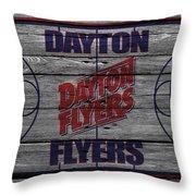 Dayton Flyers Throw Pillow