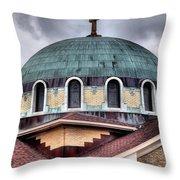 Dayton Mosque Throw Pillow