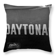 Daytona Dominator Throw Pillow
