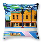Mckays Irish Pub Daytona Florida Throw Pillow
