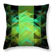 Dazzle Dunes Throw Pillow by Elizabeth McTaggart