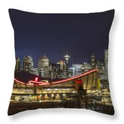 Dazzled By The Light Throw Pillow