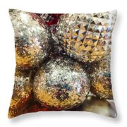 Dazzling Christmas Throw Pillow