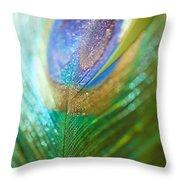 Dazzling Light Throw Pillow