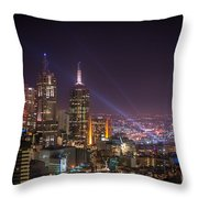 Dazzling Melbourne Throw Pillow