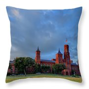 Dc Castle Throw Pillow