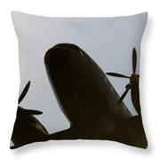 Dc Shadow  Throw Pillow