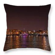 Dc Waterfront Throw Pillow