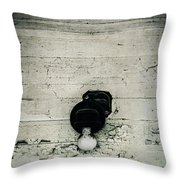 Light Of The Past Throw Pillow