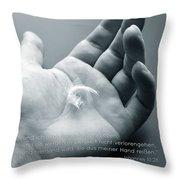 De John 10 28 Throw Pillow