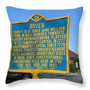 De-kc34 Dover Throw Pillow