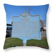 De-kc41 Camden Throw Pillow