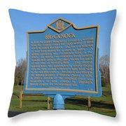 De-kc55 Brecknock Throw Pillow