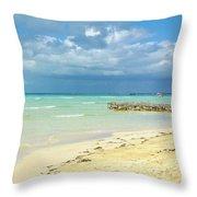 De Playa Throw Pillow