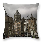 De Schreierstoren Amsterdam Throw Pillow