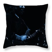 Dead #10 In Blue Throw Pillow