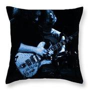 Dead #11 In Blue Throw Pillow