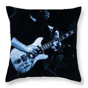 Dead #13 In Blue Throw Pillow