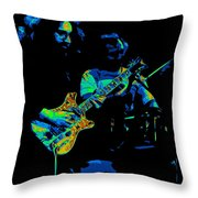 Dead #19 In Cosmic Colors Throw Pillow