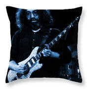 Dead #2 Crop B In Blue Throw Pillow