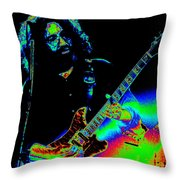 Dead #20 With Cosmic Enhancement 2 Throw Pillow