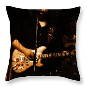 Dead #28 In Amber Throw Pillow