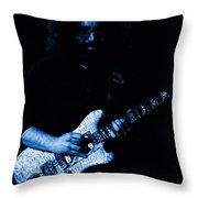 Dead #32 In Blue Throw Pillow