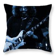 Dead #4 Blue Throw Pillow