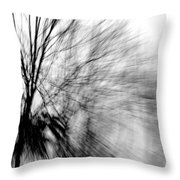 Dead Ash Throw Pillow