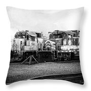 Dead-enders Throw Pillow