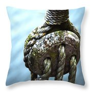 Dead Eye - Nautical Art  Throw Pillow