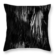 Dead Fronds Throw Pillow