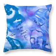Dead Homiez Throw Pillow