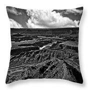 Dead Horse Point Utah Throw Pillow