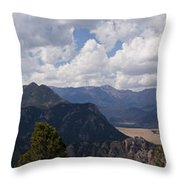 Dead Indian Panorama Throw Pillow