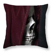 Dead Knight Throw Pillow