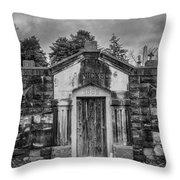 Dead Man's Castle Throw Pillow