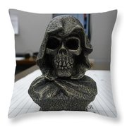 Dead On Time Throw Pillow