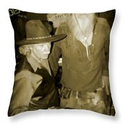 Dead Or Alive Throw Pillow