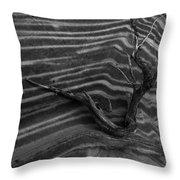 Dead Wave Throw Pillow