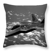 Deadly Space Throw Pillow