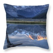 Deadwood At Beauty Creek Sunrise Throw Pillow