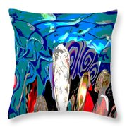 Dean Abstract Throw Pillow
