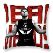 Dean Ambrose Why So Serious Throw Pillow