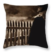 Deana Martin Funeral Young Billy Young Old Tucson Arizona 1968 Throw Pillow