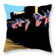 Dear Boston... Throw Pillow