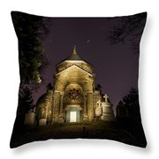 Death And Stars Throw Pillow