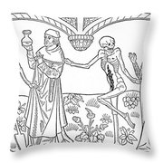 Death - Doctor And Lover Throw Pillow