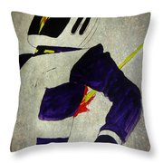 Death Of An Astronaut  Throw Pillow