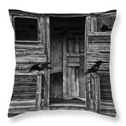 Death To The Wind  Throw Pillow